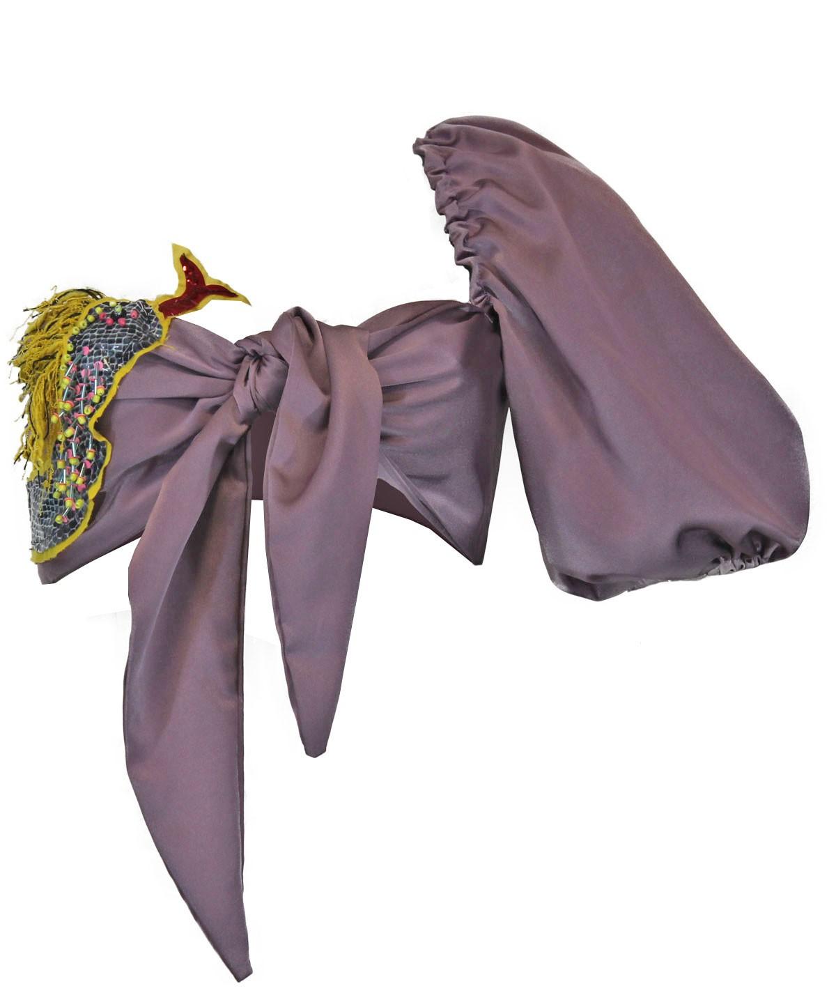 Snake - silk top