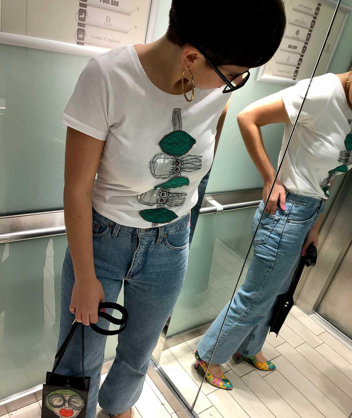 T-shirt Seppioline