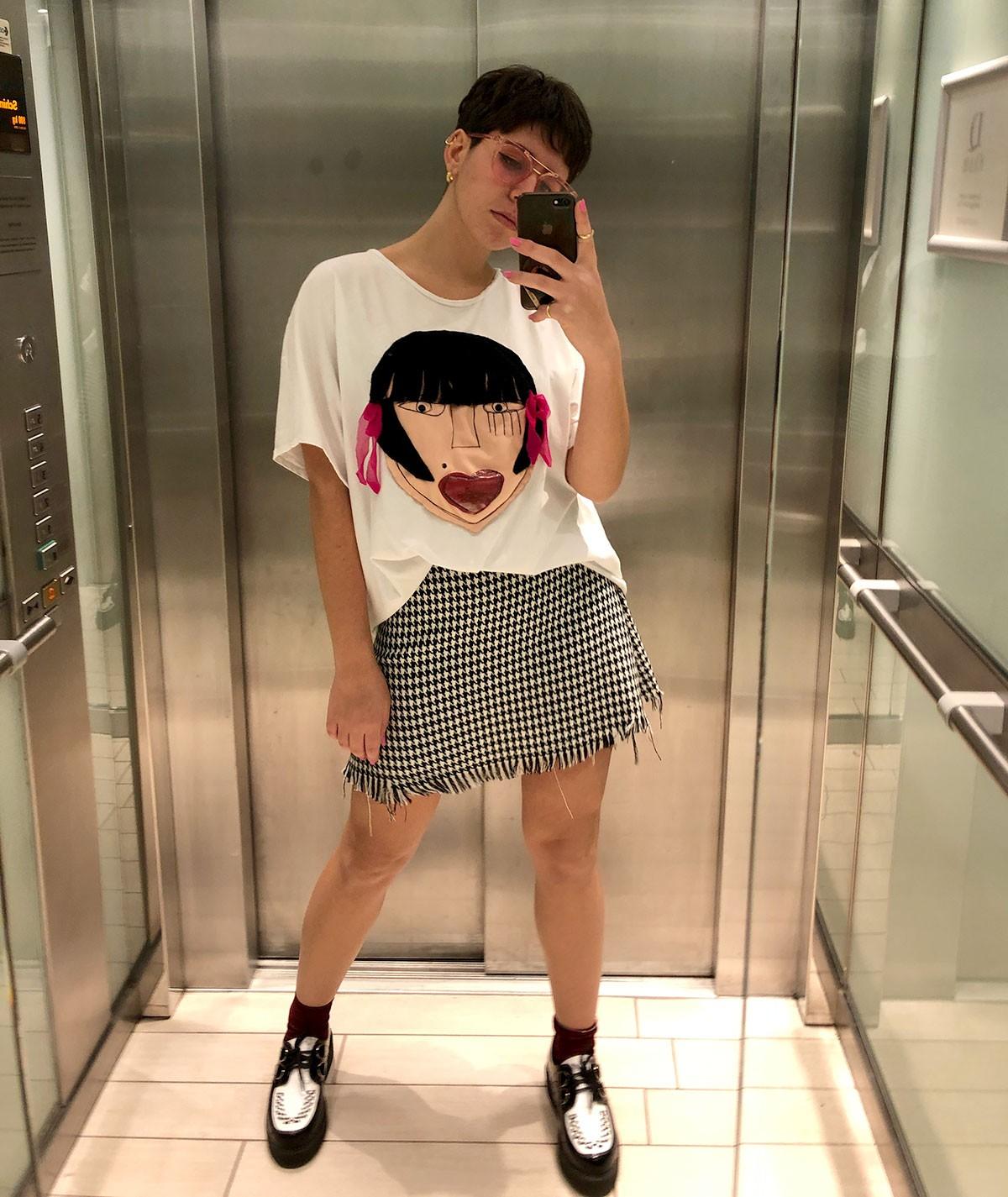 T-shirt Cinesina