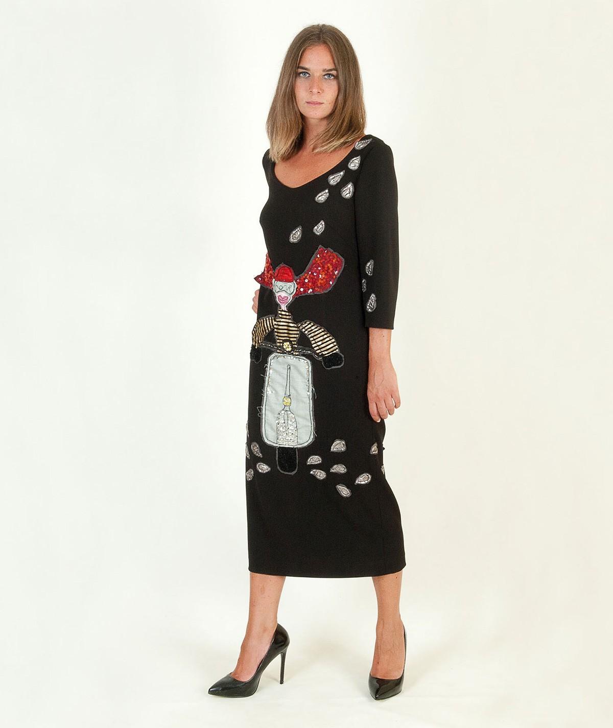 """Woman on the Vespa"" Dress"
