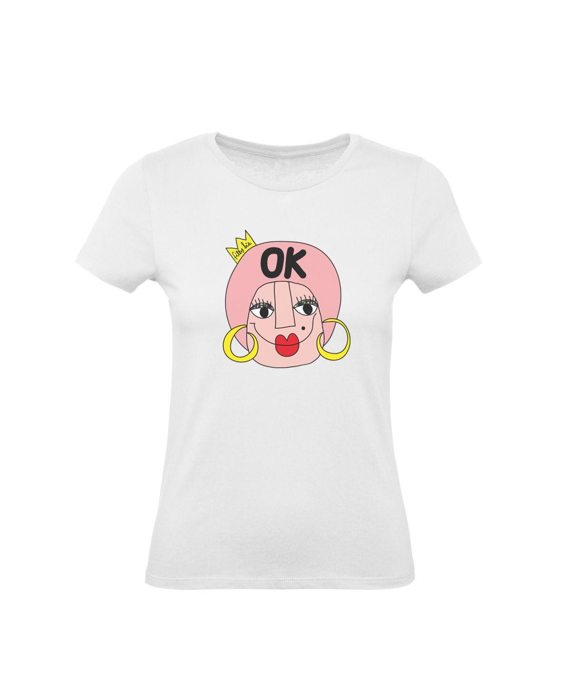 Ok ● t-shirt stampata
