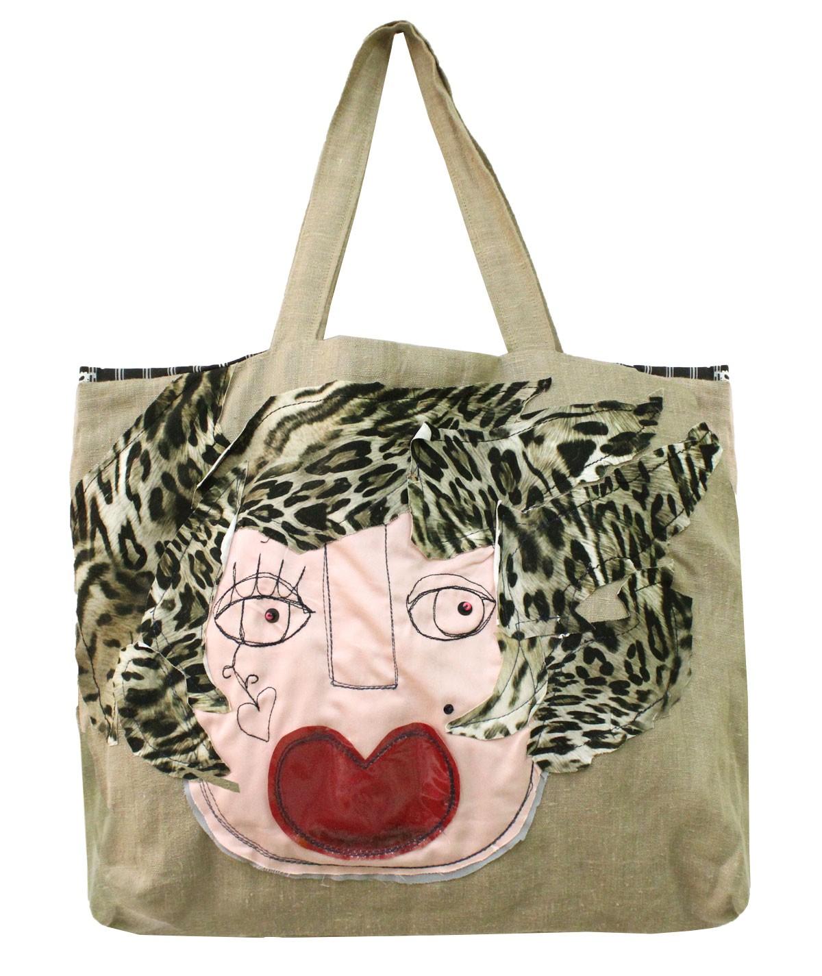 Angiolina - linen bag