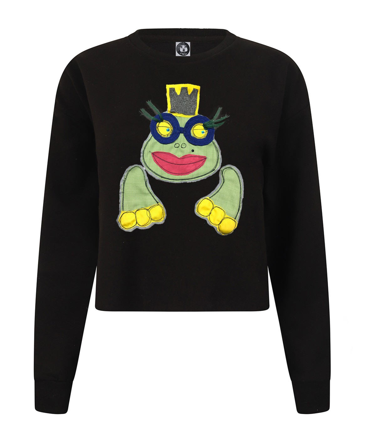 Miss Froggy - crop sweatshirt