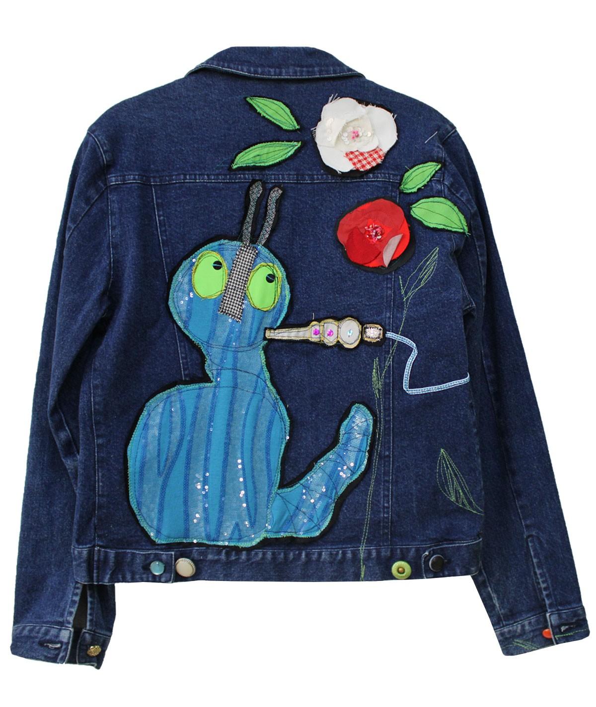 Caterpillar jacket - unique...