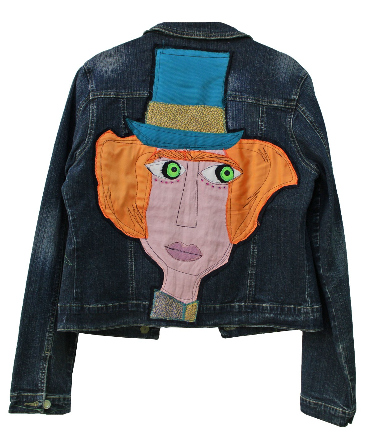 Mad Hatter jacket - unique...