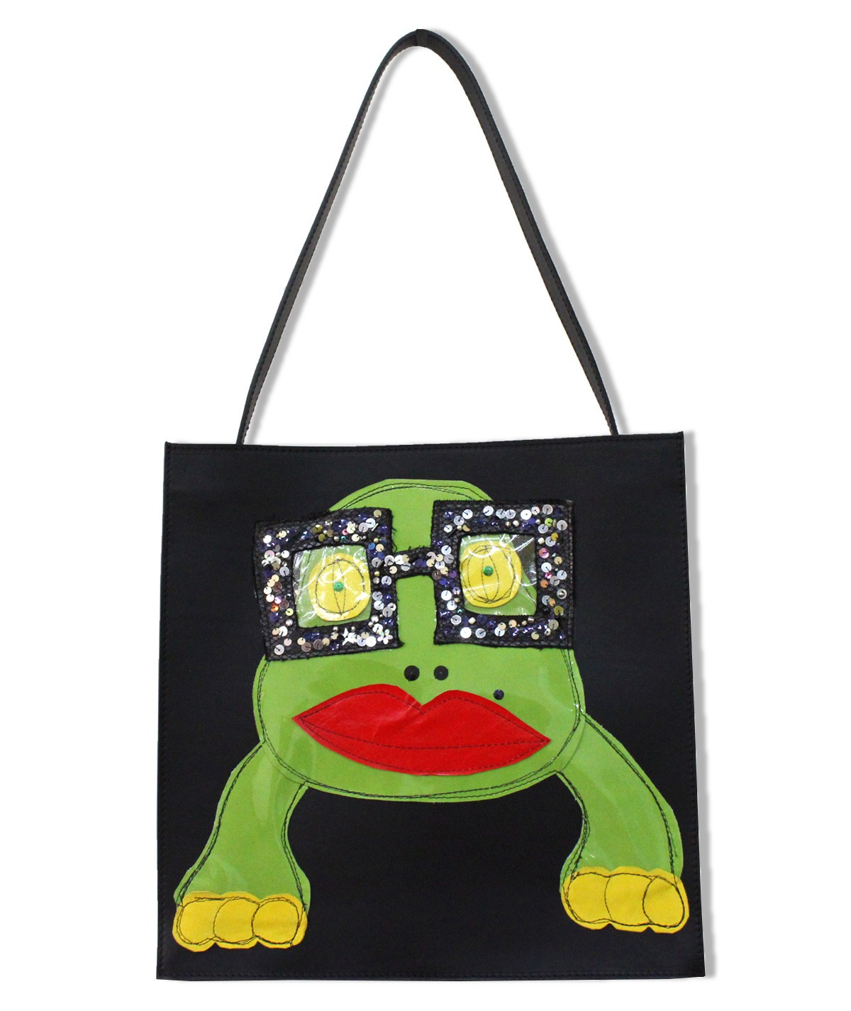 Froggy - maxi leather bag