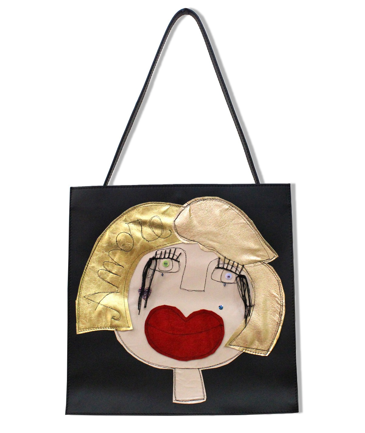 Amore - maxi leather bag