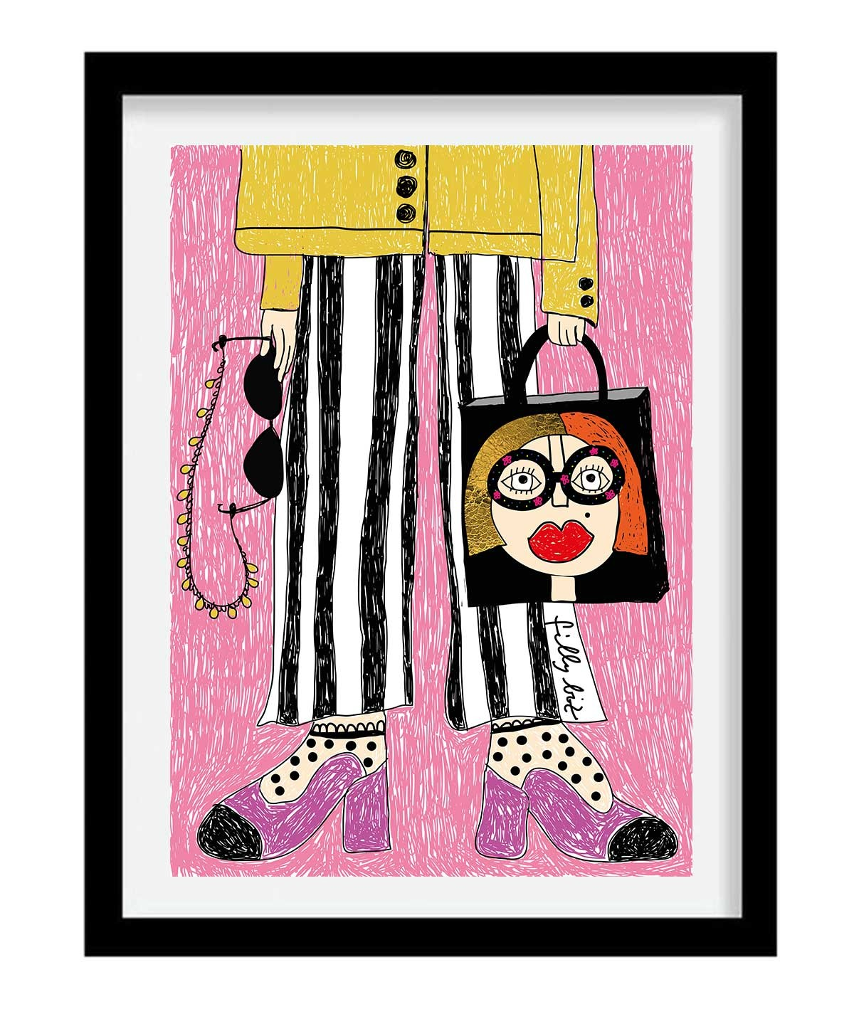 Bag lover - print