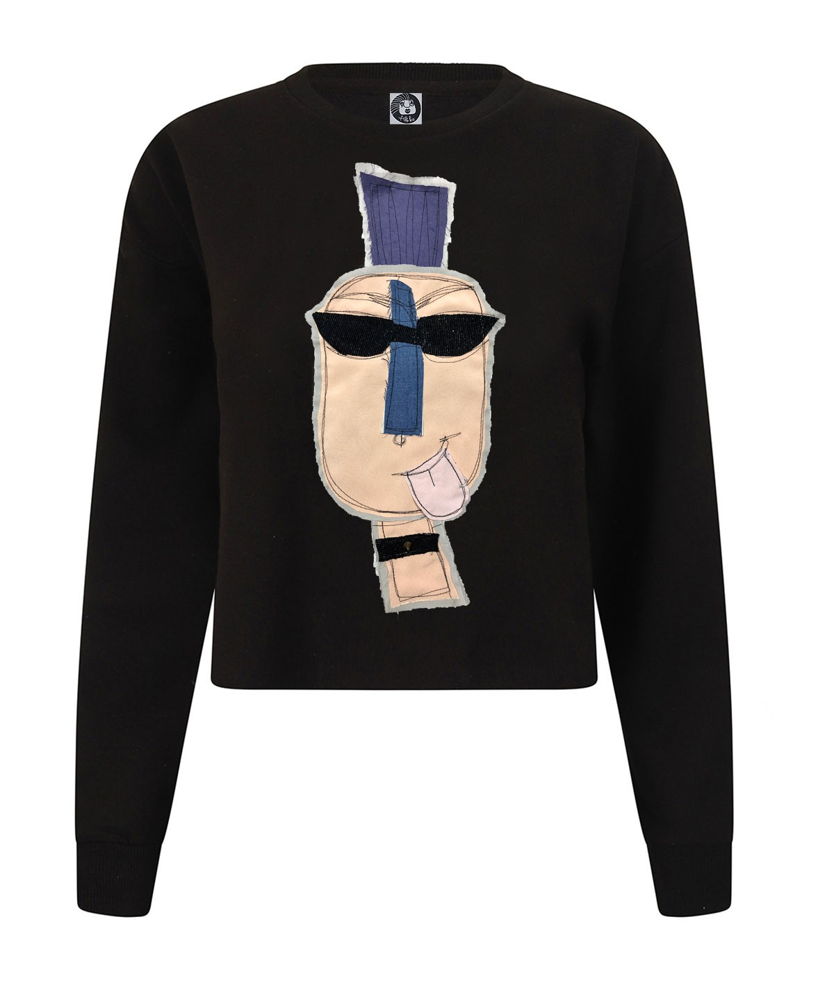 Punk man - crop sweatshirt