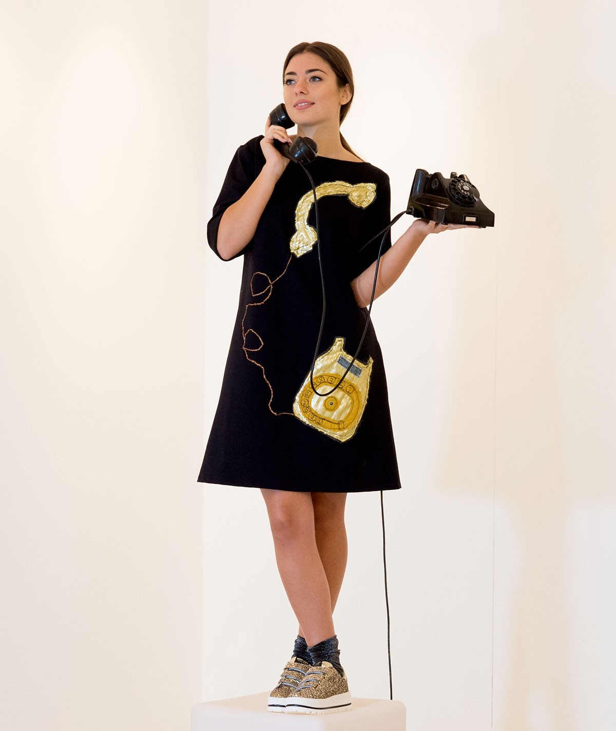 Vintage Phone Dress