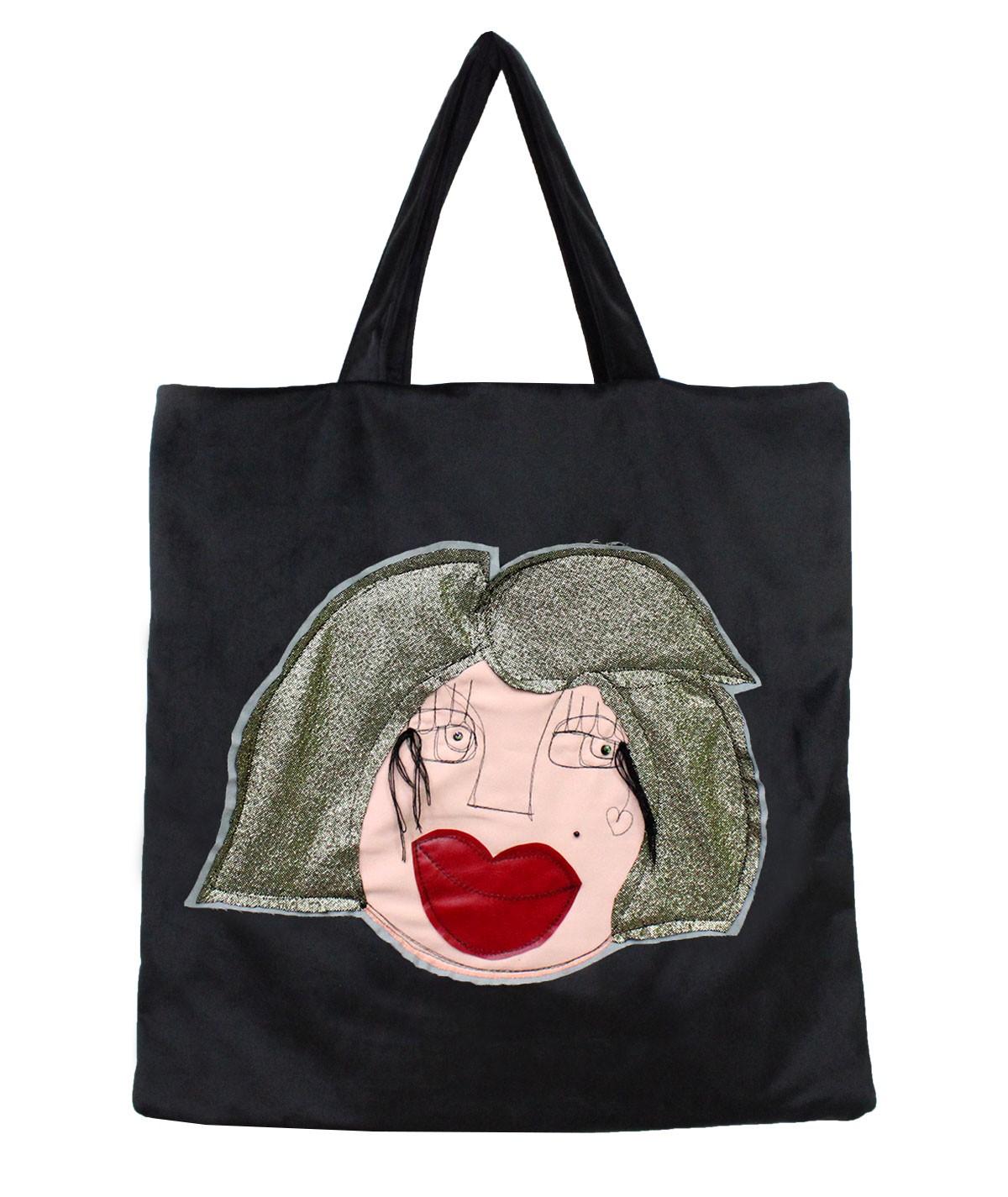 Lilli - velvet bag