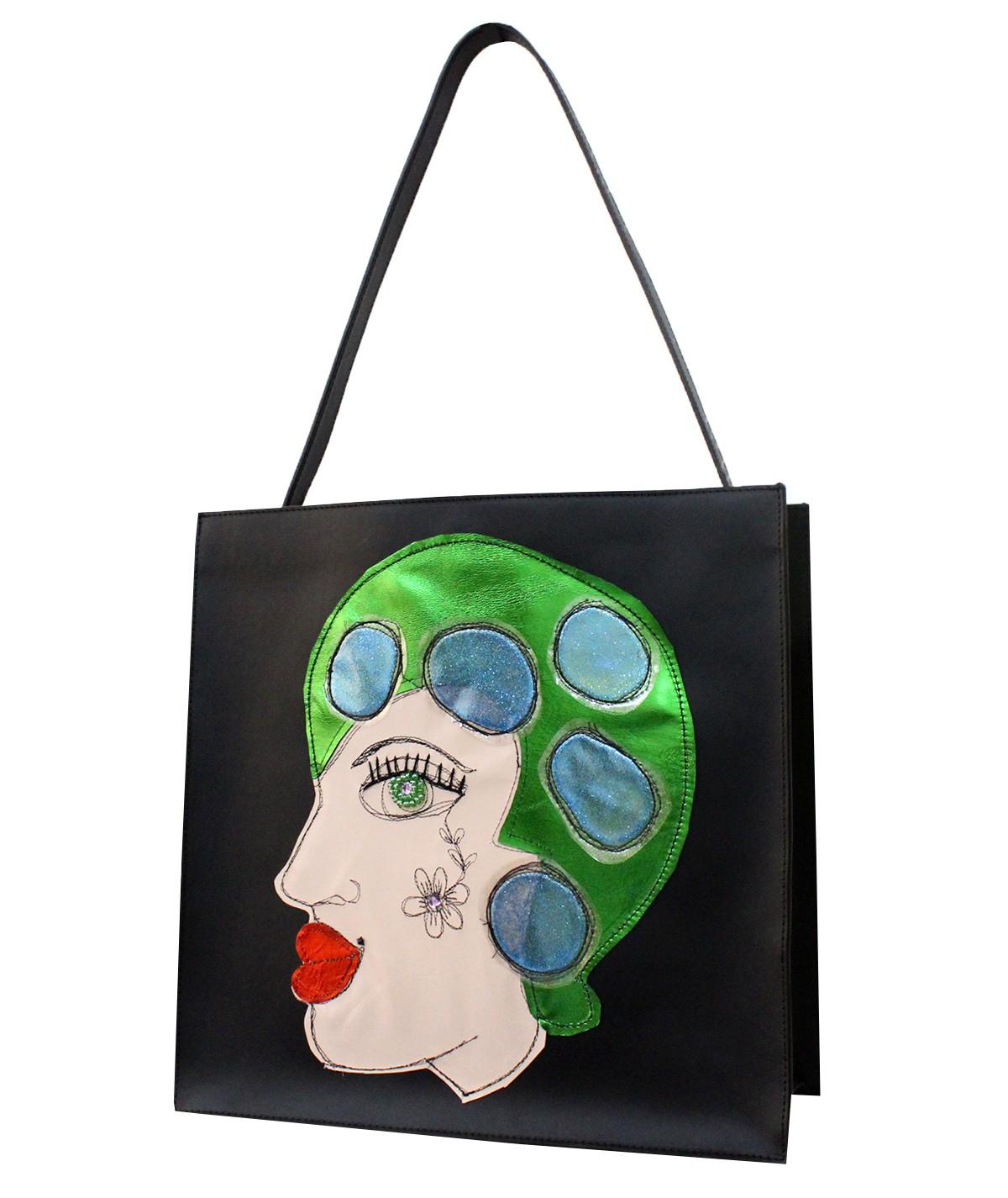 Ophelia - maxi borsa di pelle
