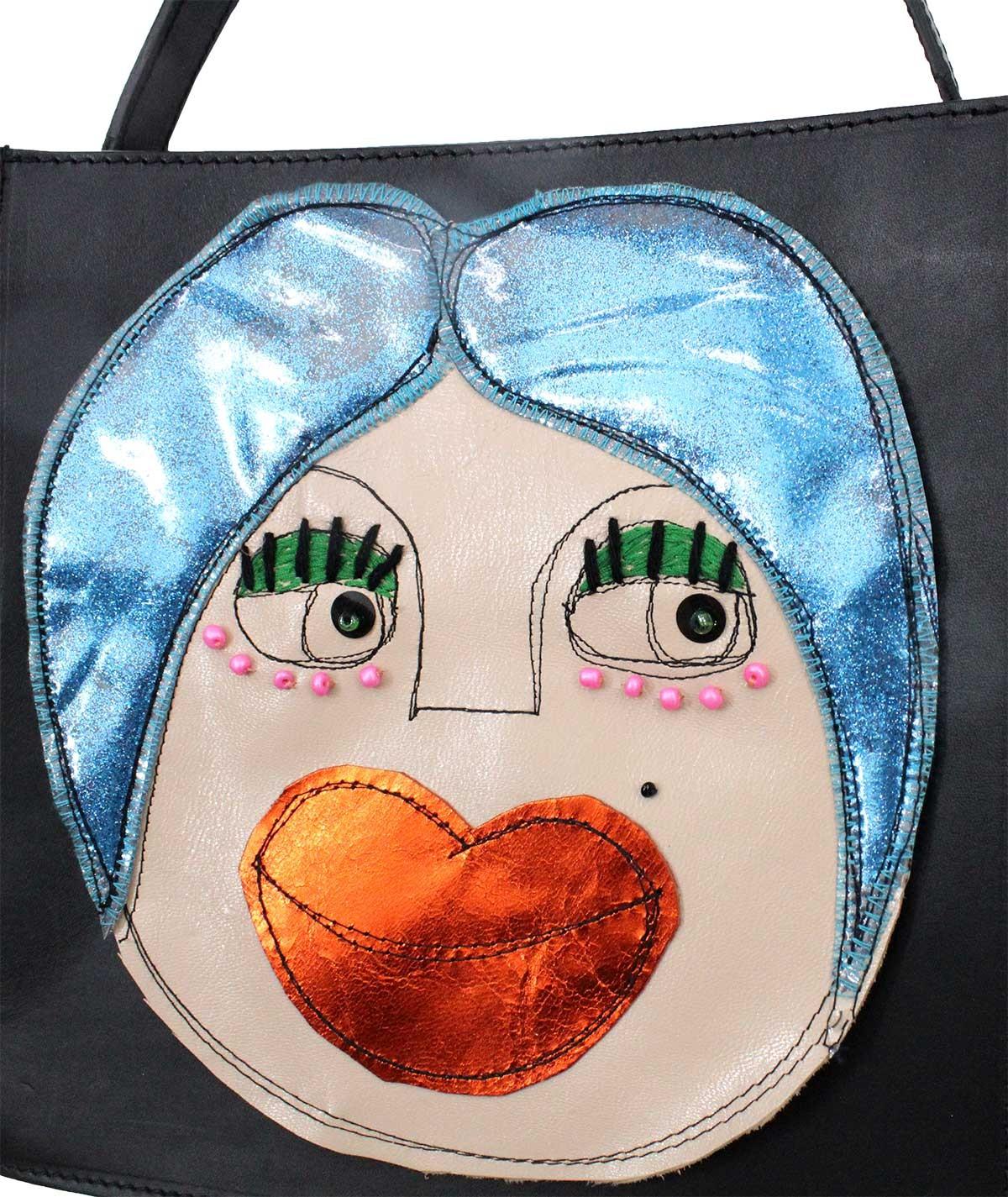 Chicca - leather shoulder bag