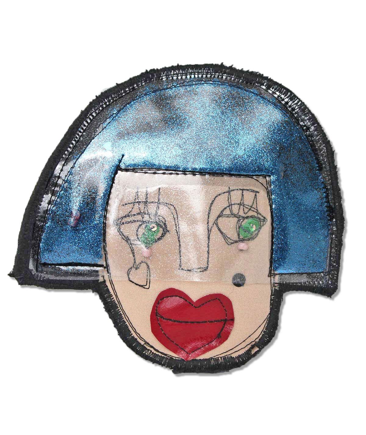 Chicca - spilla di tessuto