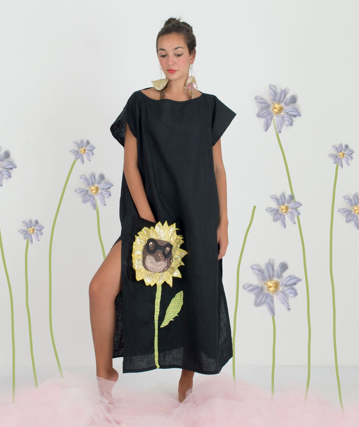 Sunflower Kaftan
