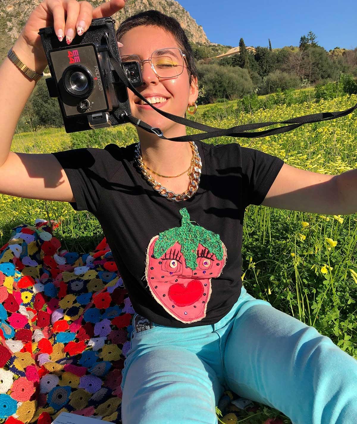 T-shirt Berry