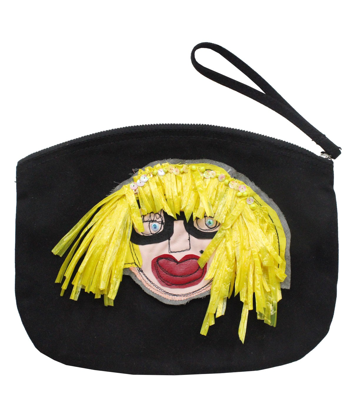 Blondie - maxi cotton pochette