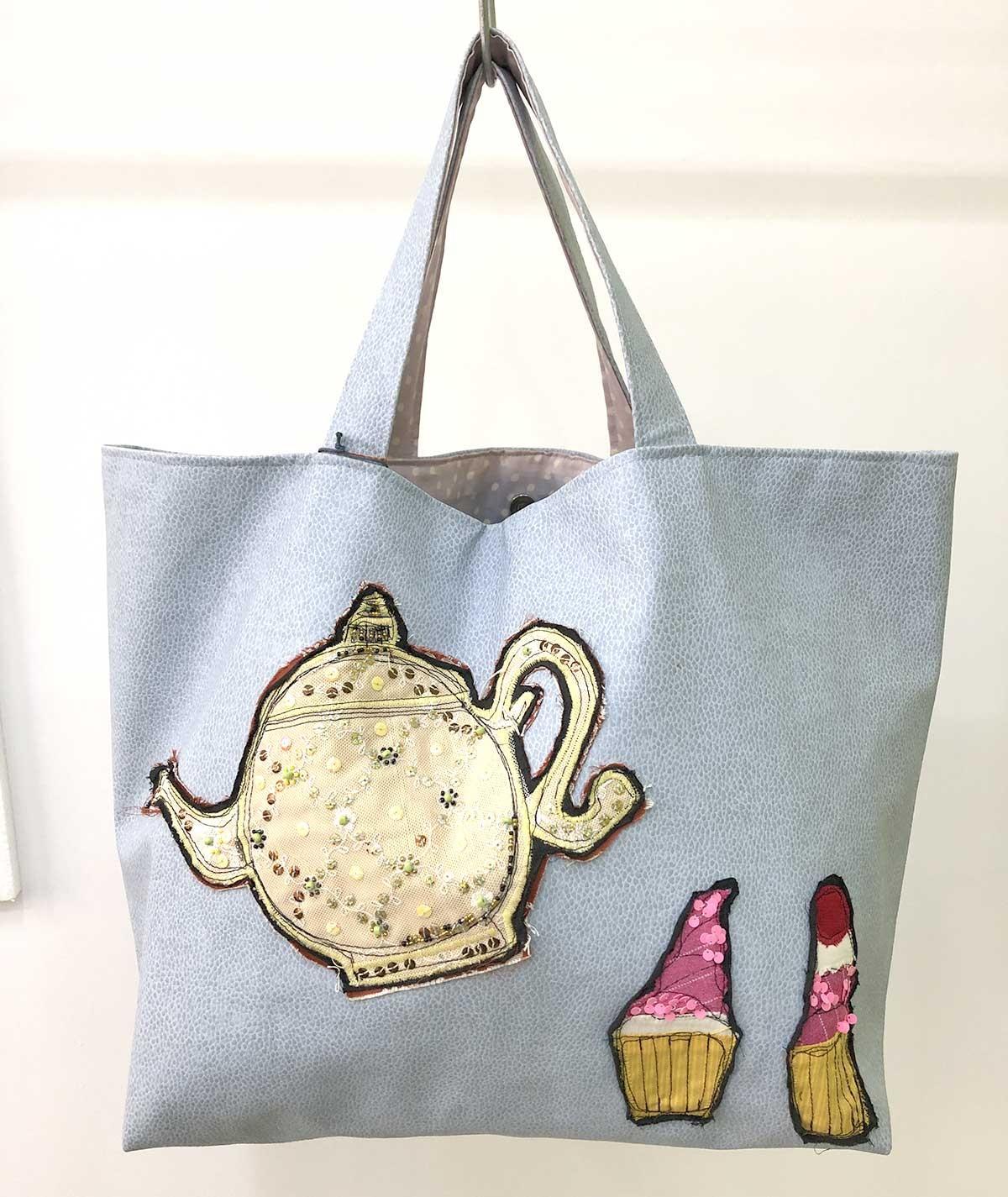 Cupcake - maxi borsa ecopelle