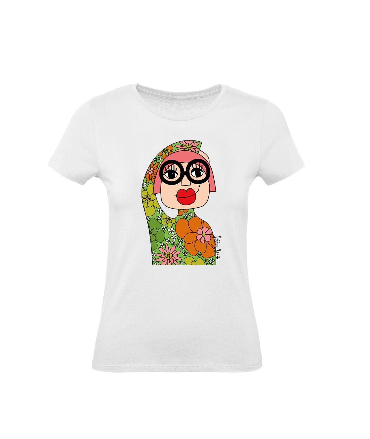 Seventies girl ● t-shirt...