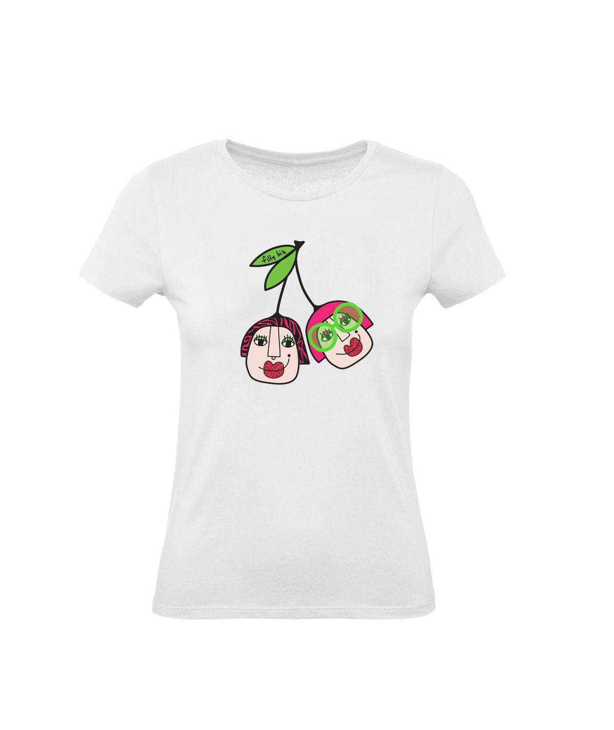 Ciliegianza ● t-shirt stampata