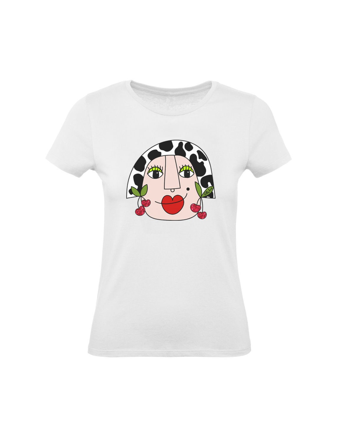 Cow girl ● printed t-shirt