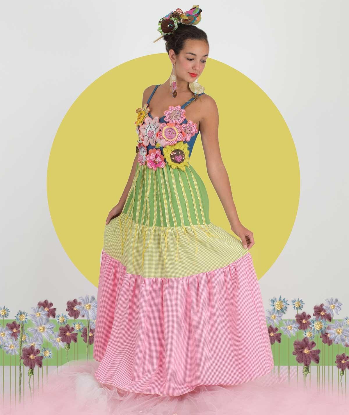 L'abito in fiore