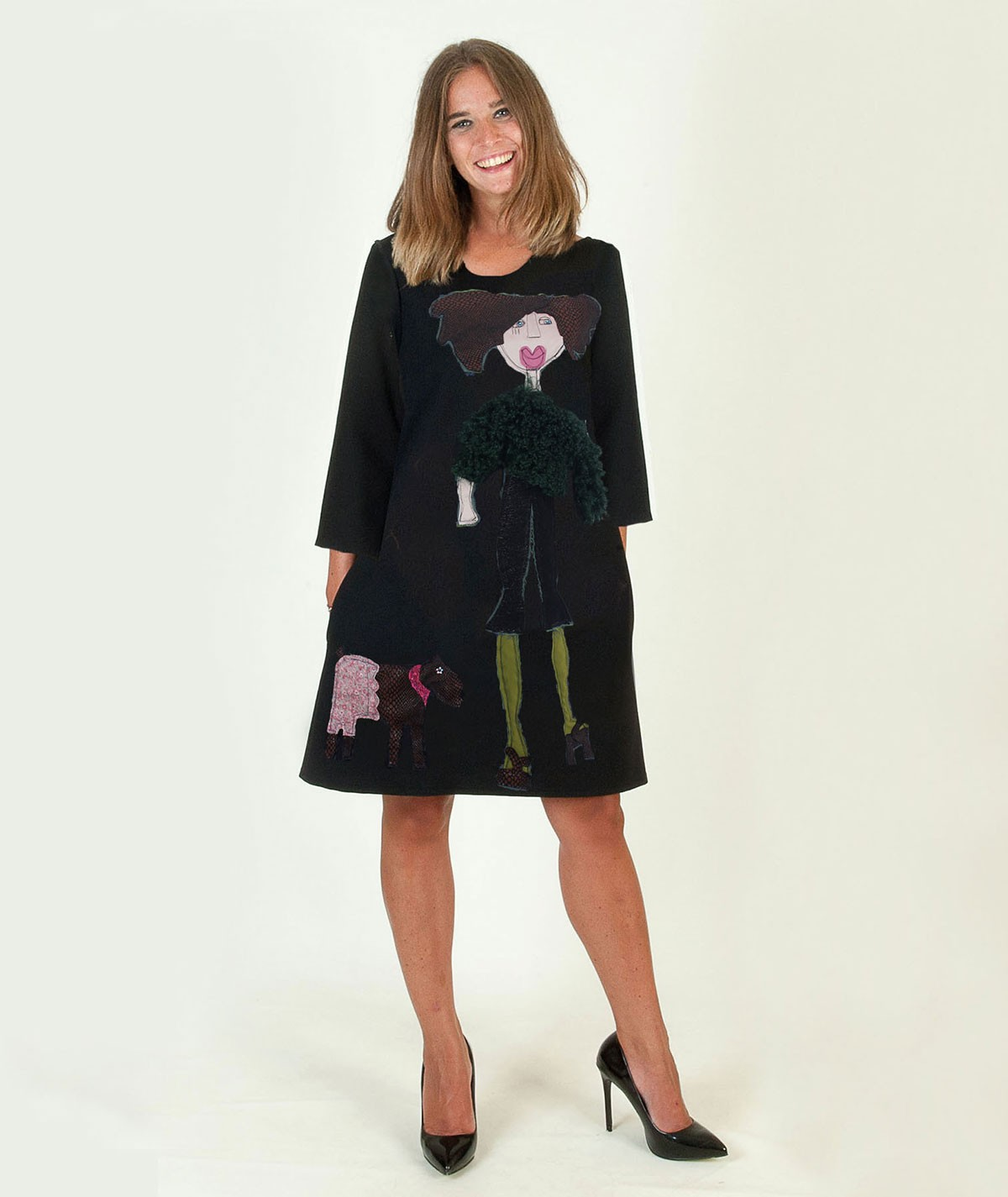 """Walking with Lilli"" Dress"