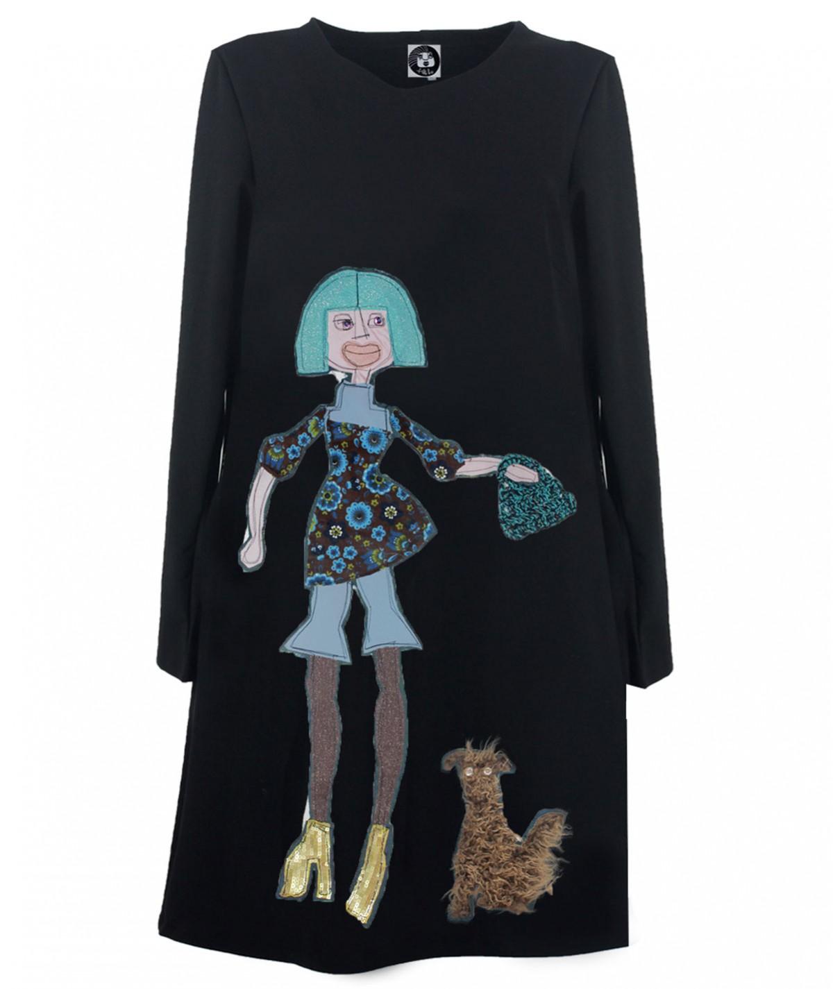 """Walking with Azzurra"" Dress"
