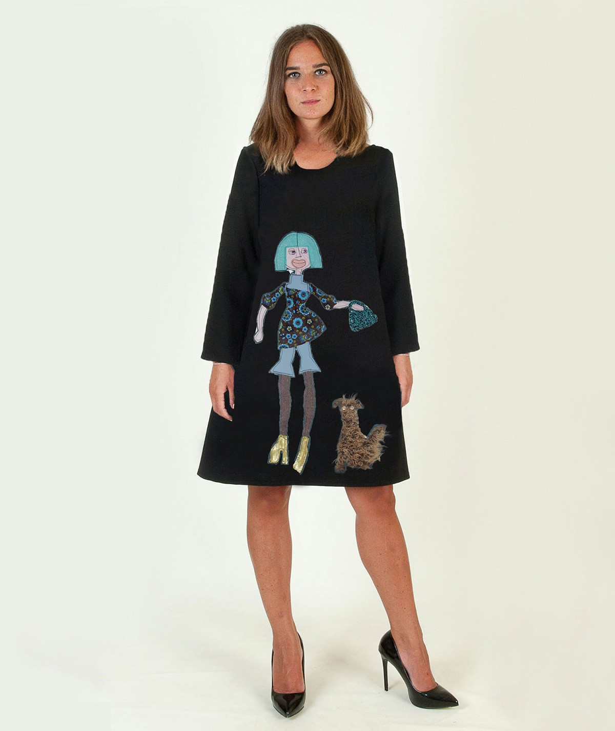 """Walking with Azzurra"" Dress"