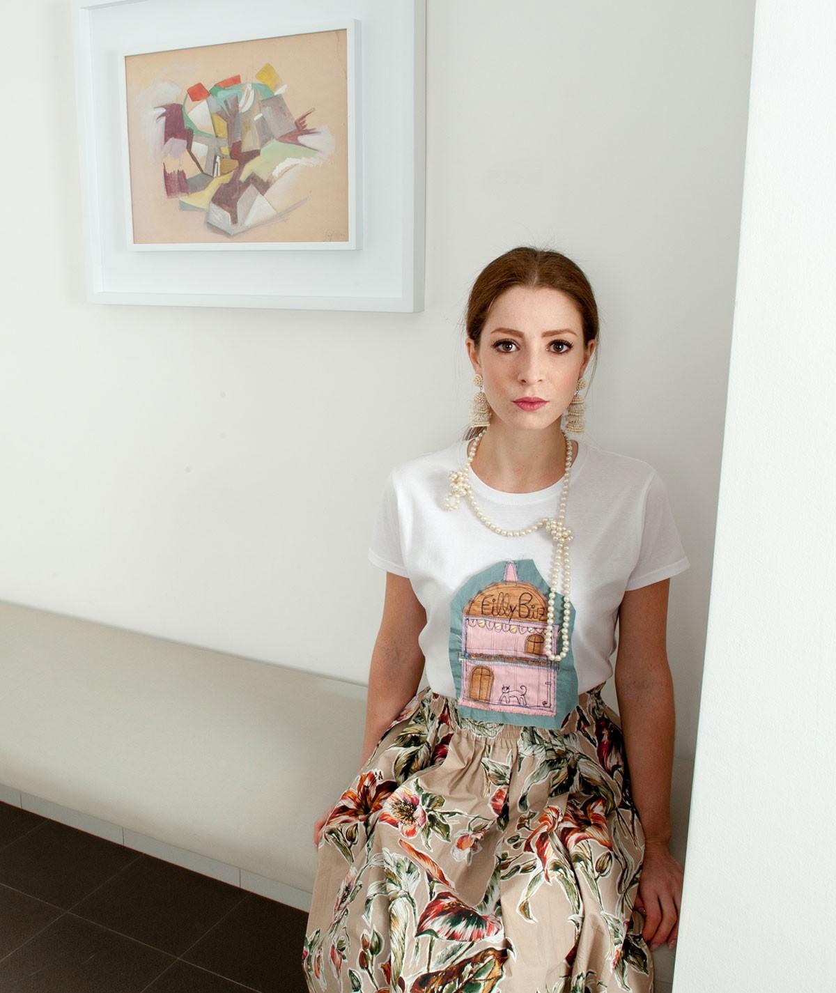 T-shirt con casetta