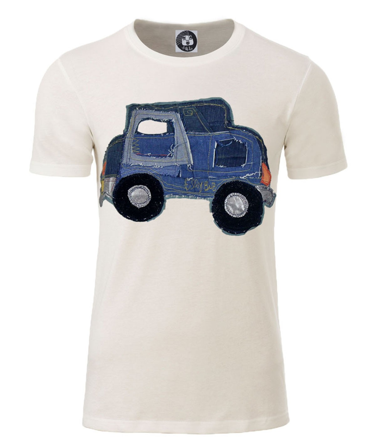 Denim car T-shirt