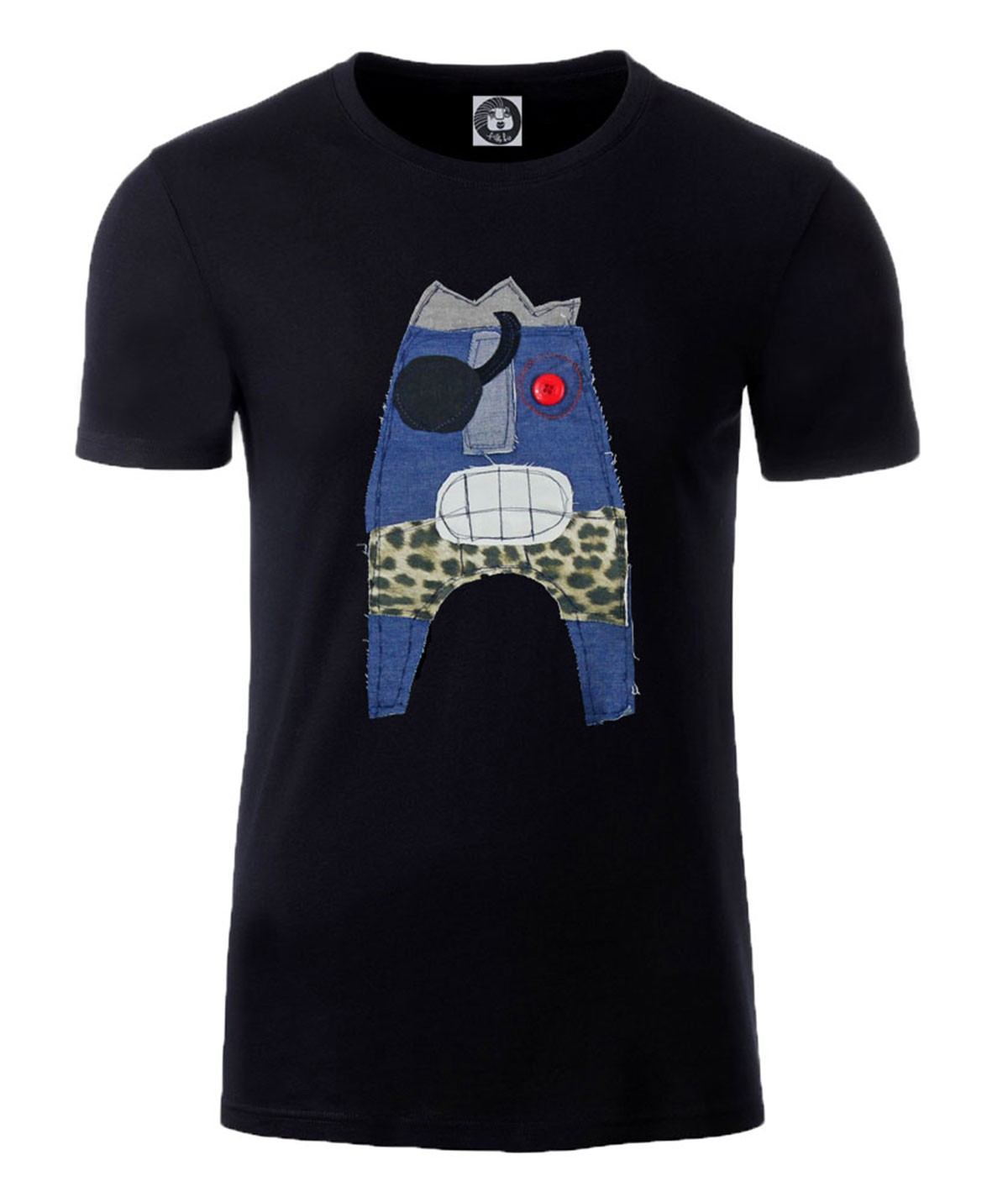 Denim monster T-shirt