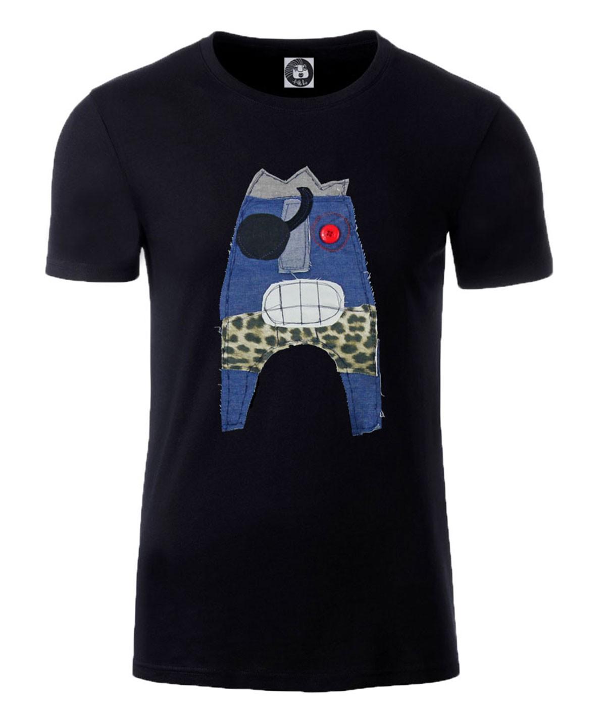 T-shirt con mostro