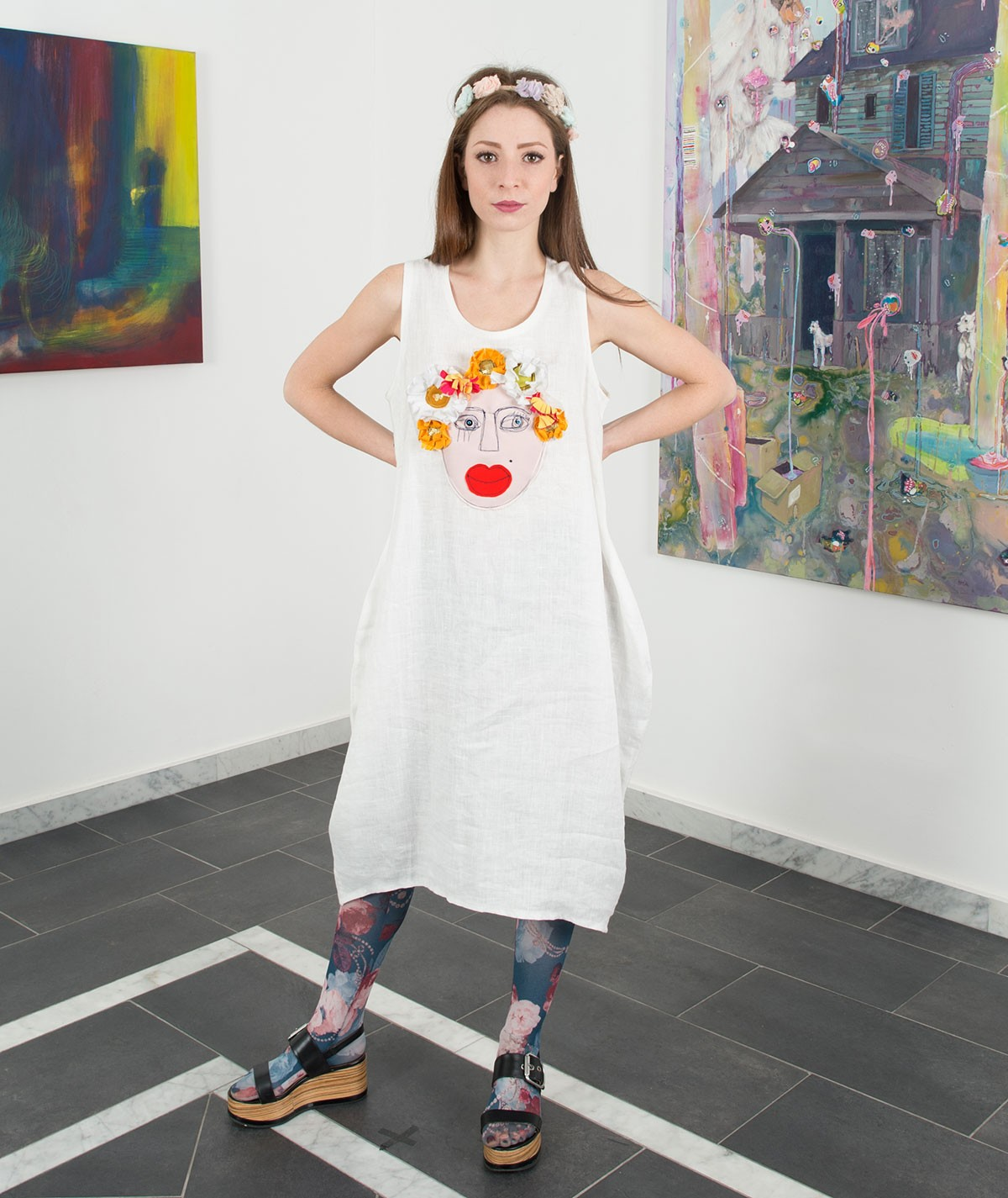 Long Frida Dress