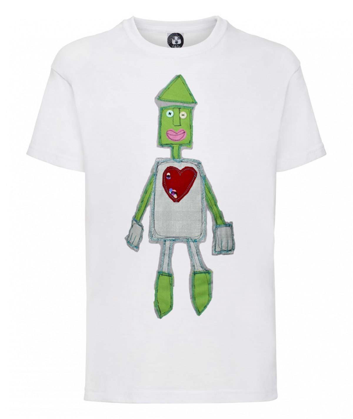 T-shirt con il robot